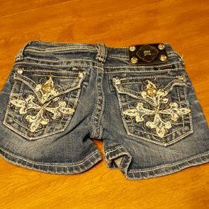 Miss Me girls shorts